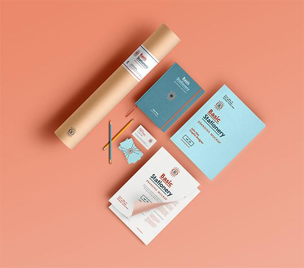 VI樣機,樣機,膠帶,信封,信紙,名片,鉛筆,筆記本,辦公用品樣機,psd logo貼圖 logo效果圖