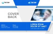 欧美英文商业版式画册PSD分层模板,画册模板,画册设计,英文画册,商业手册,版式画册...