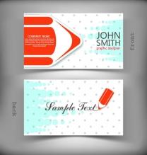 铅笔头底纹名片矢量素材,优雅花纹,名片设计,圆点,底纹,名片模板,商务卡片图片素材...