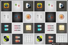 创意UI图标矢量素材AI UI界面设计logo网页图标按钮,APP图标APP界面设计 UI素材APP图标