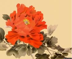 大气矢量牡丹图,矢量花卉,矢量花朵,国花矢量图,牡丹矢量图,矢量牡丹花,矢量水墨牡丹花